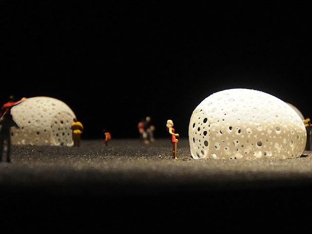 Maqueta del proyecto de Gilles Clément