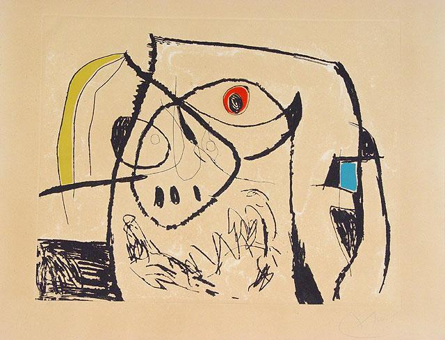 Joan Miró. Grabado nº XII (Serie Mallorca)