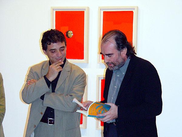 Jaume Plensa y Fernando Gómez Aguilera