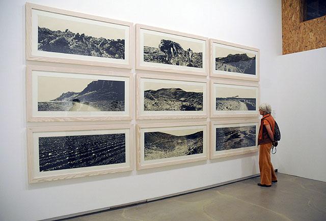 Imagen de la muestra en la Sala José Saramago de Arrecife
