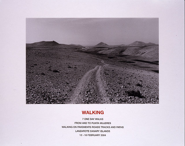 Walking (Lanzarote), 2004