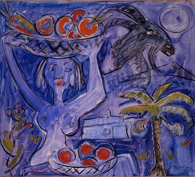 Desnudo azul, 1953