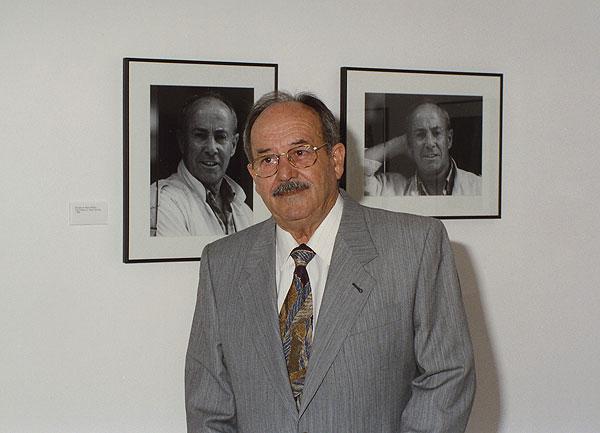 Rojas Fariña, en la inauguración de la exposición