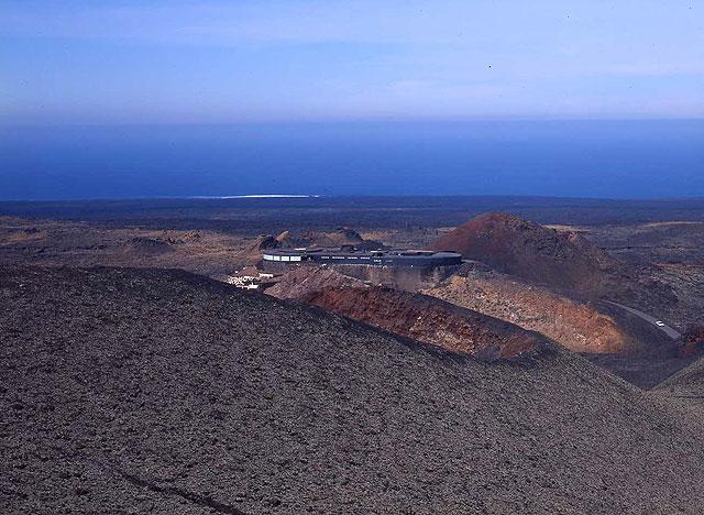 Timanfaya. Vista panorámica